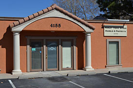The Hurley Firm is located on the north side of Montgomery, just east of Carlisle in the Granada Square Office Park.  Enter Granada Square at the stoplight.  We are in the building closest to Montgomery Blvd, west of the stoplight entrance.